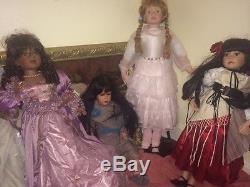 11 Vintage Porcelain Dolls $250 OBO