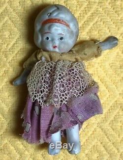 12 Vintage Porcelain JAPAN Bisque Dolls, 1920s 1930s, RARE COLLECTION OFFERED