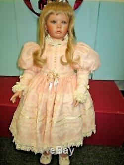 138Vintage Donna Rubert Large 24 Porcelain BAILEY Doll by Pat 1993