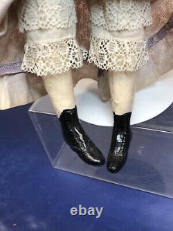 16 Antique Vintage 1940s-1950s Artist Doll Porcelain Hand Painted Lady #O