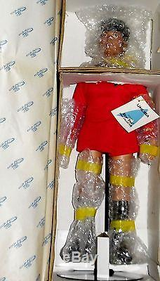 1977 VINTAGE Star Trek Hamilton Ernest Uhura Porcelain 14 Doll, Box, Tag, COA