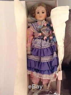 1986 Edna Hibel Nobility Of Childhood Doll Blonde Porcelain Maritza 23