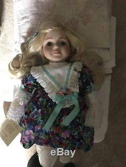 1992 Vtg Goebel Betty Jane Carter Doll By Bette Ball Taylor 26 Look