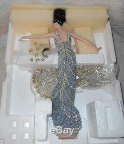 1994 Barbie 1st Erte Design Stardust Porcelain Doll withBox Shipper Box LTD ED 2