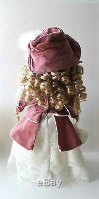 1999 Camellia Garden Collection Brass Key Victorian Porcelain Doll