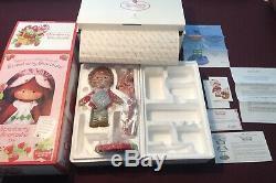 2003 Danbury Mint Porcelain Strawberry Shortcake Doll Mib Rare Hard To Find