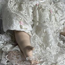 22 Baby Shay Porcelain Blue Eye Doll By Rubert 1994 W Clothes Fashionland B 132
