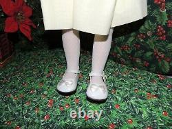 26 Porcelain Dianna Effner Vintage Molly Doll, Smocked Heirloom Dress, & Toy