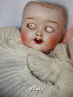 30 cm vintage doll Shinoda porcelain doll stamped Shinoda antique doll old doll