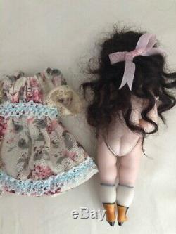 4.75 Repro Kestner wrestler doll Vintage porcelain bisque