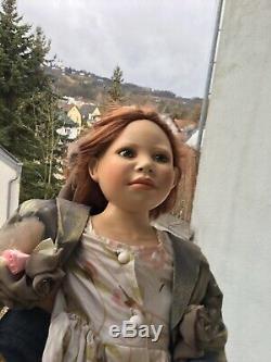 40Charming Christine Orange Porcelain Doll Amy Limited#65 Life-like