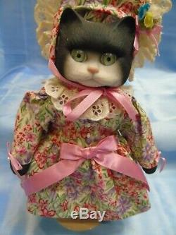 6 Vintage 1994 Goebel Special Edition Cat Dolls Betty Jane Carter Bette Ball