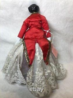 7.5 Antique Porcelain German Made China Doll Head & Limbs Flat Top #SA