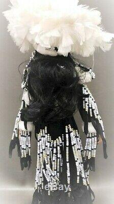 A21 33 Rustle Native American Indian Porcelain Doll Franklin Mint Winter Moon +