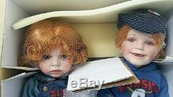 A21 VNTG TIME OUT Porcelain Doll Set Sis/Bro Hannah & Henry Donna/Kelly Rubert