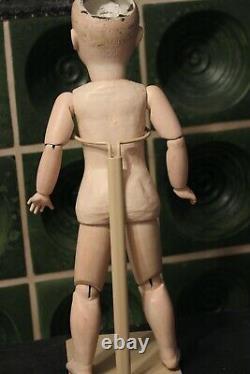 ANTIQUE DOLL NR10 MON CHERI c1915 ART JUMEAU 56cm ORIGINAL BOX w ANTIQUE DRESS