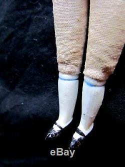 ANTIQUE GERMAN 6.5 PORCELAIN DOLLHOUSE DOLL HOUSE MADE in GERMANY