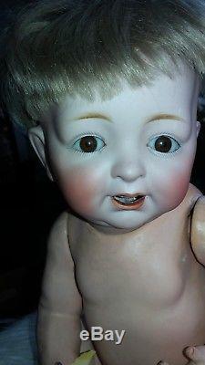ANTIQUE VINTAGE ORIGINAL CHARACTER BABY Doll KESTNER German Bisque Head Z JDK226