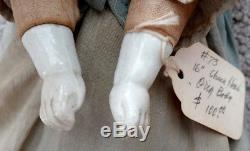 ANTIQUE Vintage VICTORIAN Porcelain Beauty CHINA DOLL & CLOTHES / CIVIL WAR Era