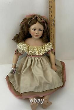 Amelia Berdine Creedy Sandra Babin Masterpiece Gallery 20porcelain Doll