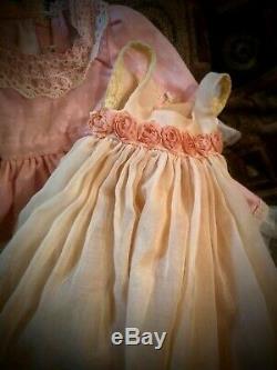 Annie Hildegard Gunzel's vintage porcelain doll, restored and custumized
