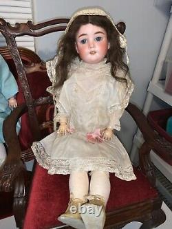 Antique 22 Porcelain Head Compostion Body SPECIAL GERMANY Doll