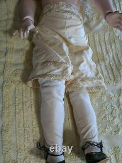 Antique 33 German Kestner Porcelain Bisque Doll N 146 with underclothes