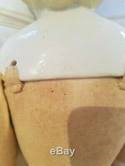 Antique Alt, Beck, Gottschalk German China Parian porcelain babydoll #809 -9 23