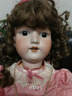 Antique Armand Marseille A. 12 M. 30 Restored Beautiful Porcelain Doll, Clothes