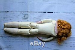 Antique Armand Marseille Bisque Jointed Porcelain Doll AM 7 DEP No 3500 Germany