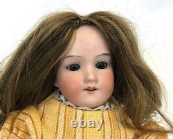 Antique Armand Marseille Germany 390 DRGM 24 G/1 Bisque Porcelain 16 Girl Doll