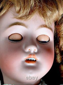 Antique C. M. Bergman & Simon & Halbig 27 Porcelain Doll Bisque Head
