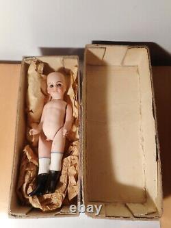 Antique Doll All IN Biscuit Of Porcelain petite française jules verlingue