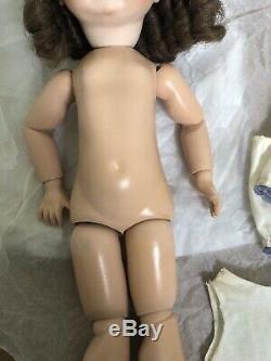 Antique KESTNER Bisque JDK 221 GOOGLY Side Glance GERMAN Doll Jointed Body