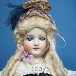 Antique Porcelain Doll KLING w BRU face env. 1880 s Fashion Doll 31.5 inch