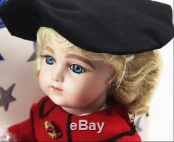 Antique Reproduction Bru Jne Pair Girl & Boy Porcelain Dolls Barbara Ota New