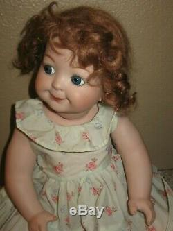 Antique Reproduction GOOGLY EYED German Kestner Doll 221 Bisque Porcelain- 15
