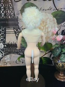 Antique Reproduction Glazed Huret Davida Dior Porcelain Doll