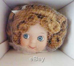 Antique Reproduction Googly Jdk All Porcelain Usps Patricia Loveless Doll Extras