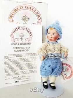 Antique Reproduction Heubach Patricia Loveless Porcelain Miniature Doll New