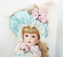 Antique Reproduction J D Kestner 237 Bopeep Patricia Loveless Porcelain Doll New