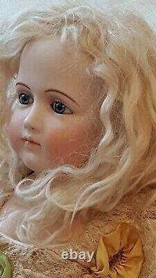 Antique Reproduction PJ(Portrait Jumeau) Porcelain Bisque Doll by Branka Schärli
