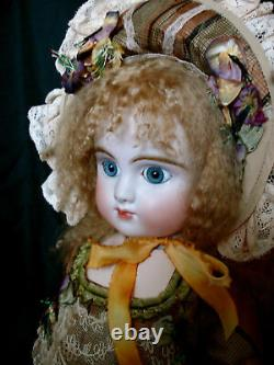 Antique Reproduction Porcelain Doll by Mary Lambeth