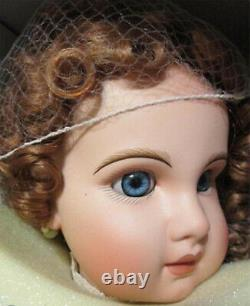 Antique Reproduction Tete Jumeau 28 In Porcelain Doll Patricia Loveless New