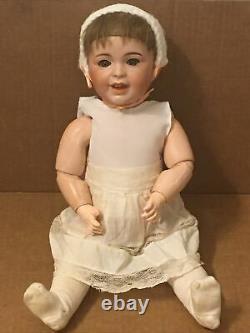 Antique SFBJ Bisque Porcelain Doll Paris France Jumeau Paris Vintage French Bebe