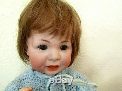 Antique Simon & Halbig Doll 116 A 17 Inch Porcelain Head & Jointed Comp. Body