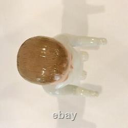 Antique Victorian Period German Frozen Charlie 10.5 Porcelain Doll