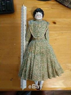Antique Vintage 12-inch German China head doll