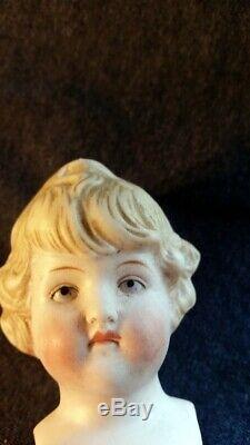 Antique/Vintage Bisque Porcelain Doll