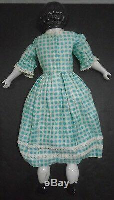 Antique Vintage Porcelain China Head Doll Large 24